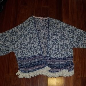 Xhilaration short sleeve Cardigan
